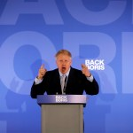 Boris Johnson aventaja para suceder a Theresa May - Foto de AFP