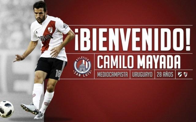 Camilo Mayada, nuevo jugador de Atlético San Luis - Foto de Atlético San Luis