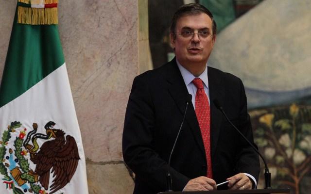 Marcelo Ebrard ofrecerá 'conferencia matutina' desde Washington - conferencia Canciller de México, Marcelo Ebrard. Foto de Notimex