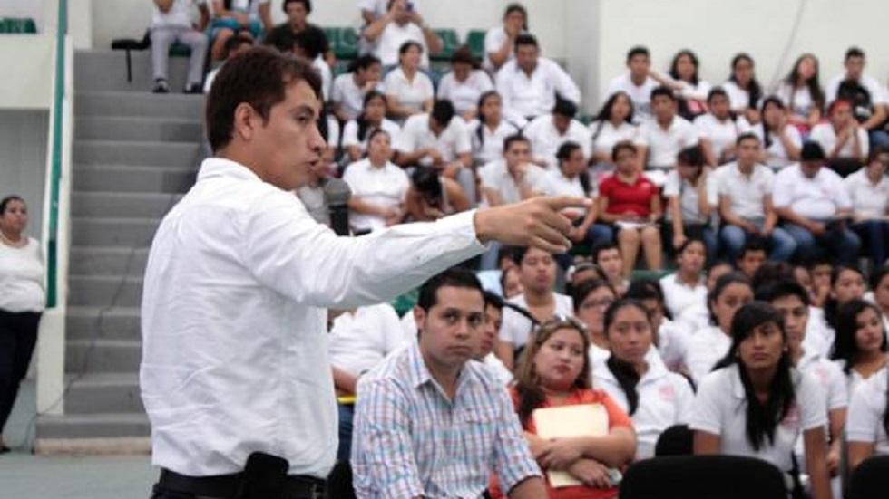 César Oliveros Aparicio, nuevo fiscal central Antisecuestros. Foto de Fiscalía de Tabasco