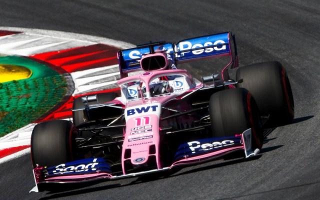 Checo Pérez iniciará el Gran Premio de Austria en el lugar 16 - checo pérez clasificación gp austria