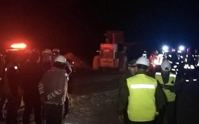 Derrumbe en mina de Chile atrapa a tres personas - Foto de @Sernageomin
