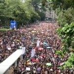 """China apoya a las autoridades de Hong Kong y critica la """"hipocresía"""" de las protestas - Foto de EFE"""