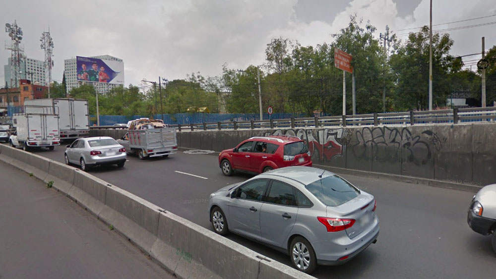 Choque en la carretera México-Toluca - choque México toluca