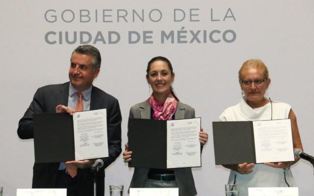 Gobierno capitalino e Inegi firman acuerdo para acceder a censo de población - Ciudad de México Inegi Comité Censo
