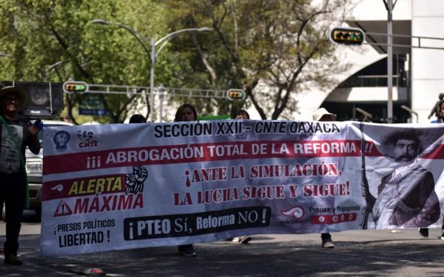Reinstalarán a 36 maestros de la CNTE el jueves - CNTE maestros profesores