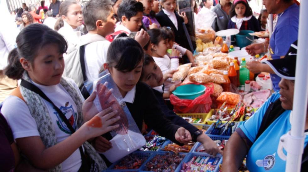 Analizará Ciudad de México prohibir venta de comida de chatarra a menores - comida chatarra escuelas