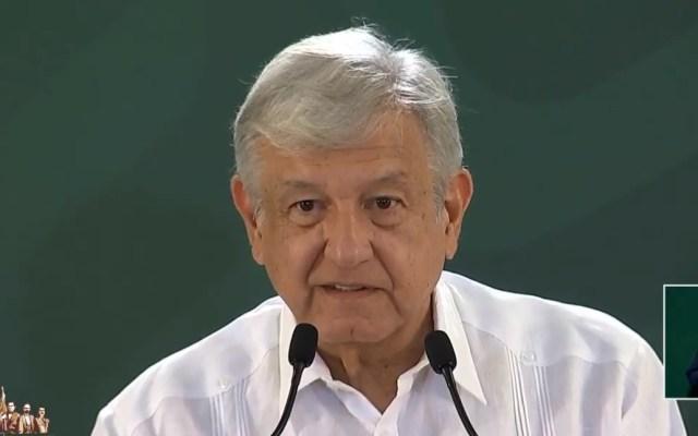 Reducen 58.5 por ciento homicidios en Quintana Roo - Conferencia AMLO 24 de junio. Captura de pantalla