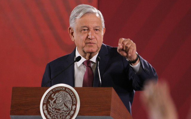 Calificadoras no han sido profesionales ni objetivas: López Obrador - Conferencia AMLO 7 de junio. Foto de Notimex