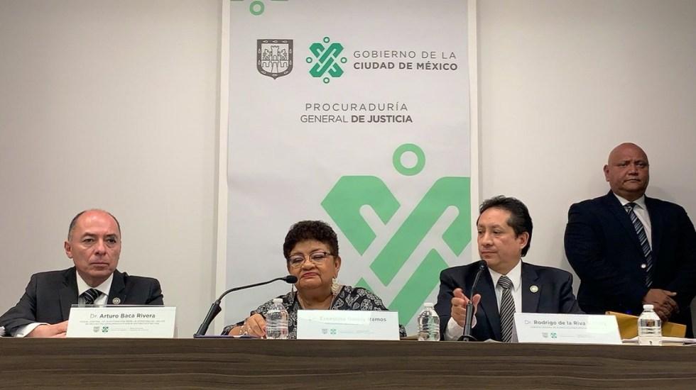 Norberto Ronquillo pudo ser asesinado la noche del secuestro: PGJCDMX - Conferencia PGJ-CDMX y Fiscalía Antisecuestros. Foto de PGJ