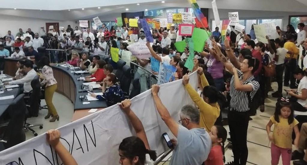 Congreso de Baja California Sur aprueba en lo general matrimonio igualitario - Foto de El Sol de México