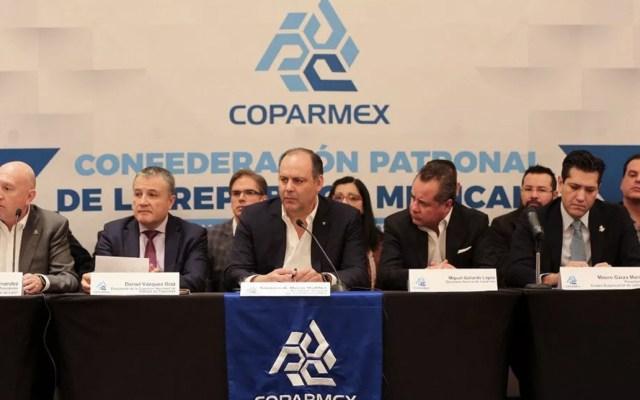 Coparmex pide replantear proyectos de Santa Lucía y Dos Bocas - Foto de Coparmex
