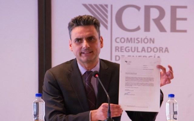 Renuncia Guillermo García Alcocer a presidencia de la CRE - Guillermo García Alcocer