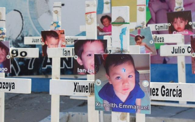 IMSS confirma denuncia contra exgobernador por Guardería ABC - Cruces de niños víctimas del incendio de la Guardería ABC. Foto de Notimex