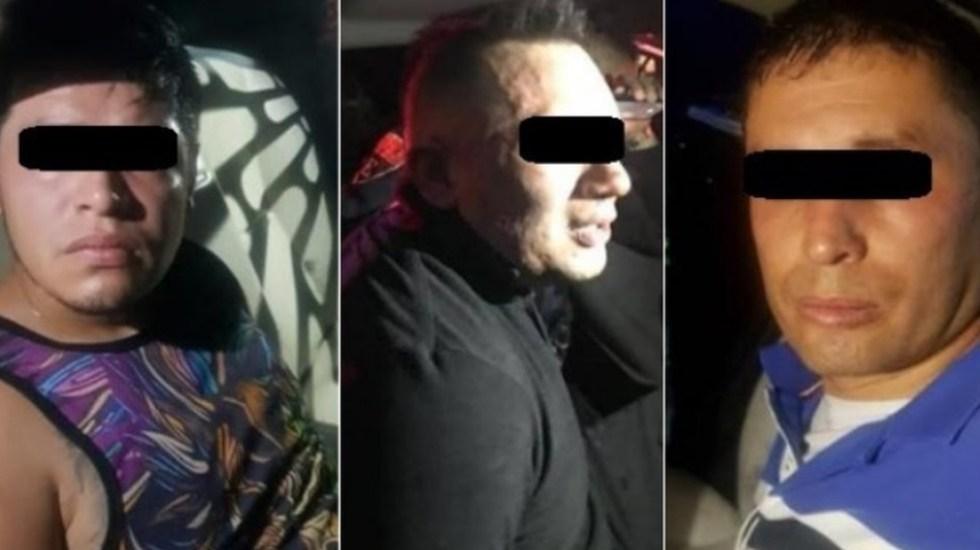 Detienen a tres sudamericanos por robar casa en Álvaro Obregón - Detienen a tres por robo a casa Álvaro Obregón
