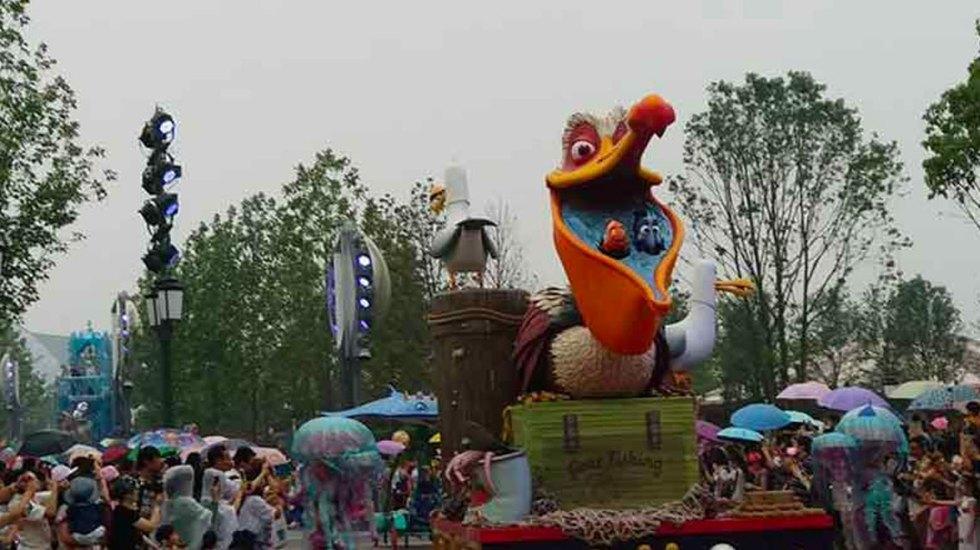 Crece presencia de aves en parque aledaño a Disney de Shanghai - Foto de Facebook