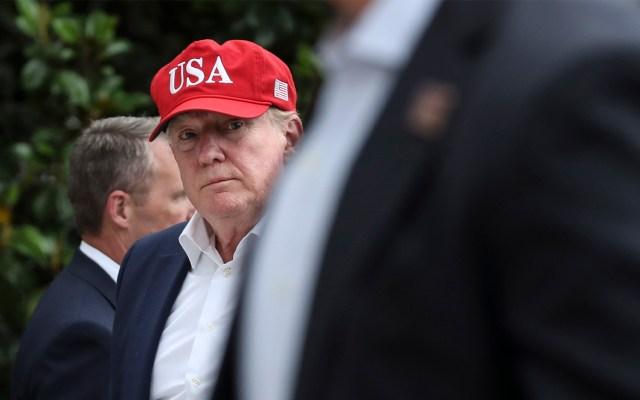 """Trump advierte con """"anunciar en su momento"""" acuerdos no comunicados con México - Donald Trump. Foto de EFE/EPA/OLIVER CONTRERAS / POOL."""