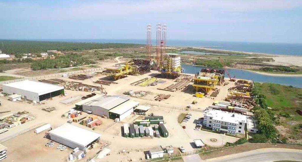 Construcción de Dos Bocas va de acuerdo con el programa, asegura Rocío Nahle - asea mia dos bocas
