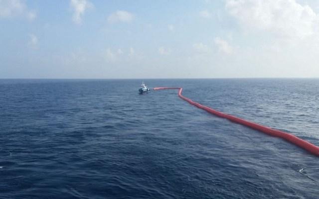 México busca acuerdo con Canadá para evitar afectaciones por gasoductos - Ducto marino sur Texas-Tuxpan. Foto de Isabel Zamudio