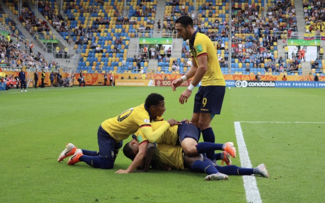 Ecuador derrota a EE.UU. y se mete a semifinales del Mundial Sub 20 - Foto de @FEFecuador