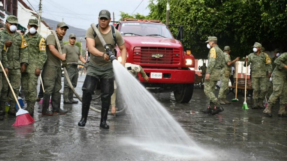 San Gabriel presenta 95 por ciento de avance en limpieza - Foto de Notimex