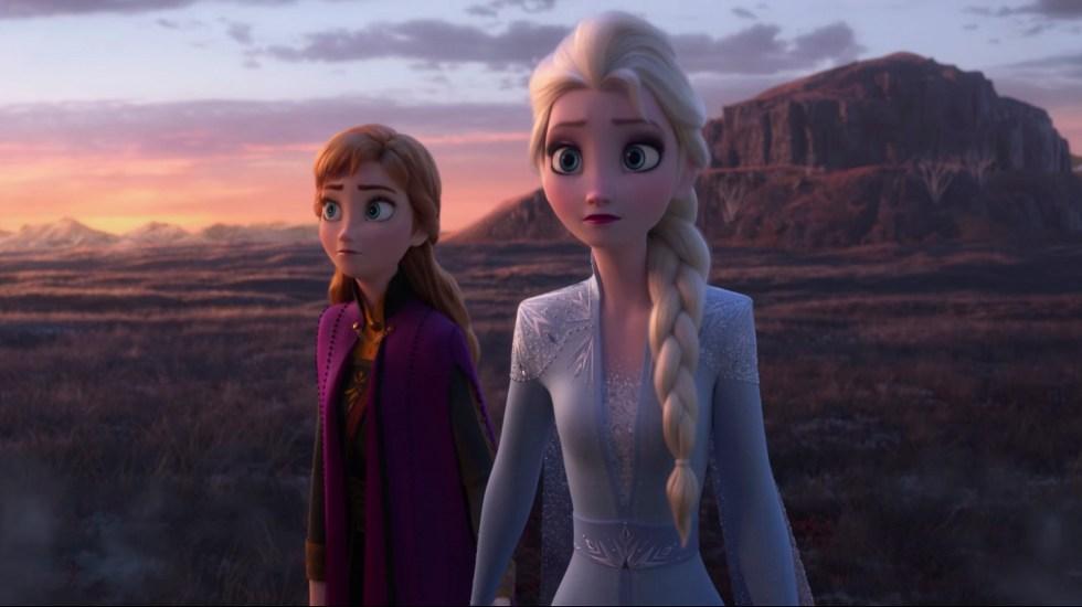 #Video Llega nuevo tráiler de Frozen 2 - Elsa y Anna en nuevo tráiler de Frozen 2. Captura de pantalla