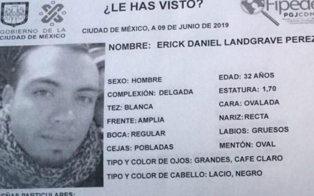 Reportan desaparición de otro joven en la Ciudad de México - Foto de PGJ CDMX