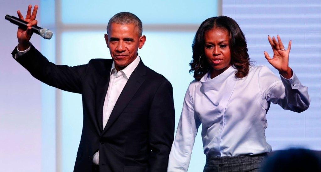 Barack y Michelle Obama firman contrato con Spotify para crear podcasts - obama