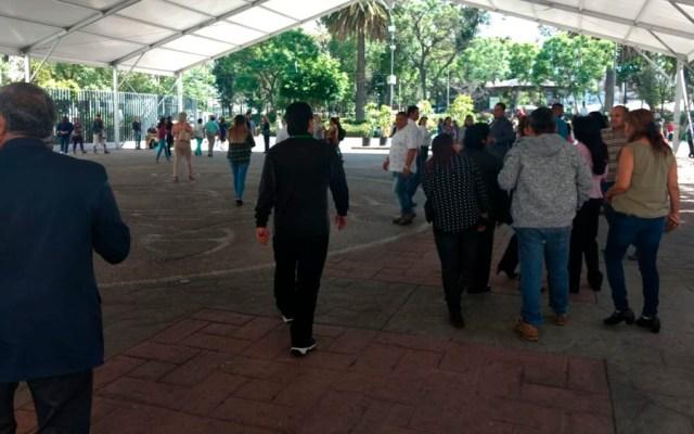 Desalojan alcaldía Iztapalapa tras amenaza de bomba - foto iztapalapa