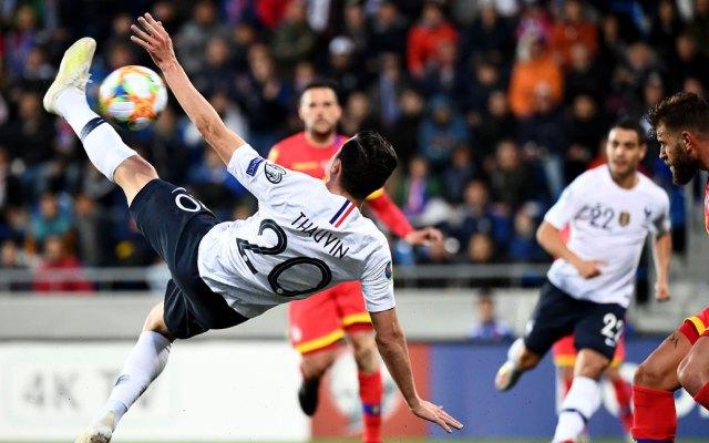 #Video Francia golea a Andorra rumbo a la Euro 2020 - Francia Andorra