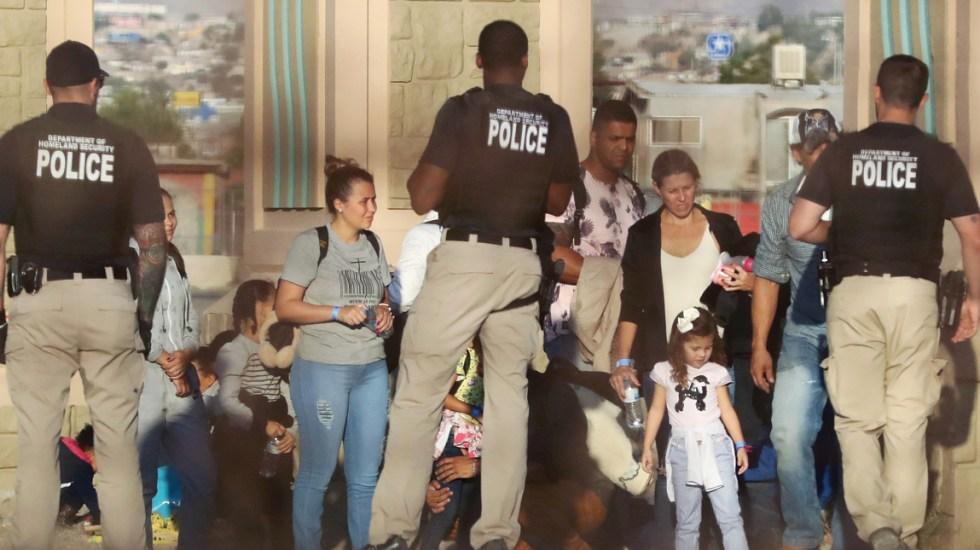 EE.UU. espera que flujo de migrantes disminuya en junio - Foto de AFP