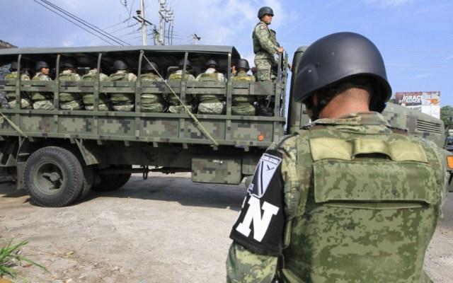 Nadie debe sorprenderse por Guardia Nacional en frontera sur: Durazo - Foto de Notimex