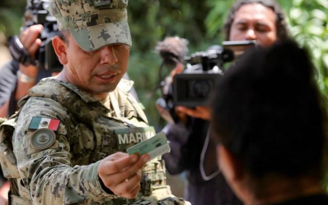 Mayoría de mexicanos está a favor de endurecer políticas migratorias - Guardia Nacional migrantes