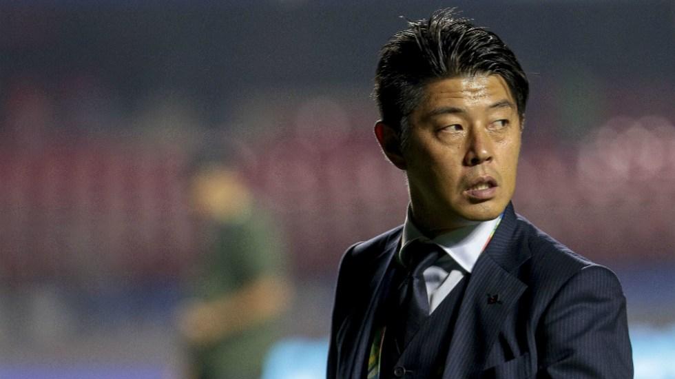 """Es una """"derrota triste"""" pero no nos """"acobardamos ante el campeón actual"""": DT de Japón - Foto de Mexsport"""