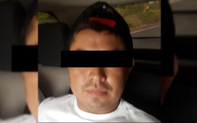 Detienen a jefe de plaza de Los Rojos ligado con 'El Carrete' - Ignacio V FGR Morelos Secuestro exprés