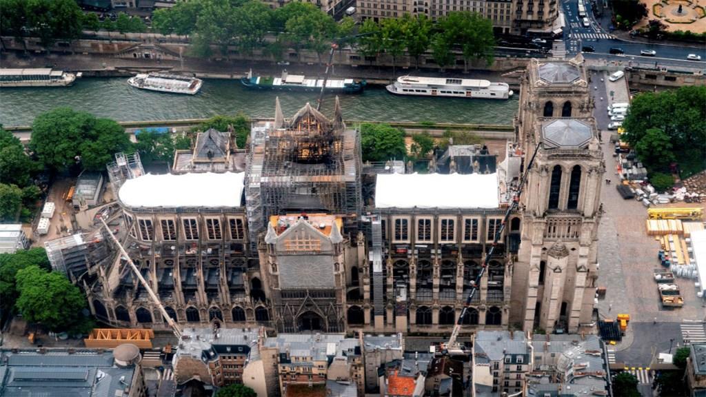 Descartan que incendio en Notre-Dame tenga origen criminal - incendio catedral de notre dame origen criminal