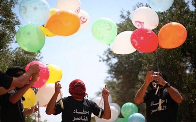 Israel cierra zona pesquera en Gaza por globos incendiarios - israel globos incendiarios zona pesquera gaza