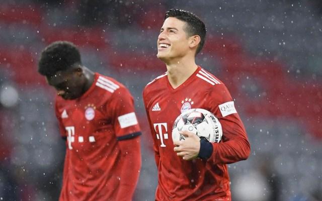 James Rodríguez deja el Bayern Munich - james bayern