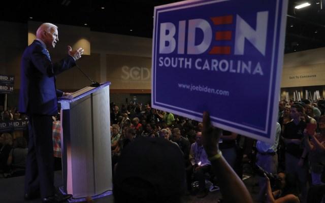 Joe Biden aventaja en carrera presidencial - Foto de AFP