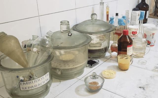 Asegura FGR bodega utilizada para fabricar fentanilo en Nuevo León - Foto de FGR
