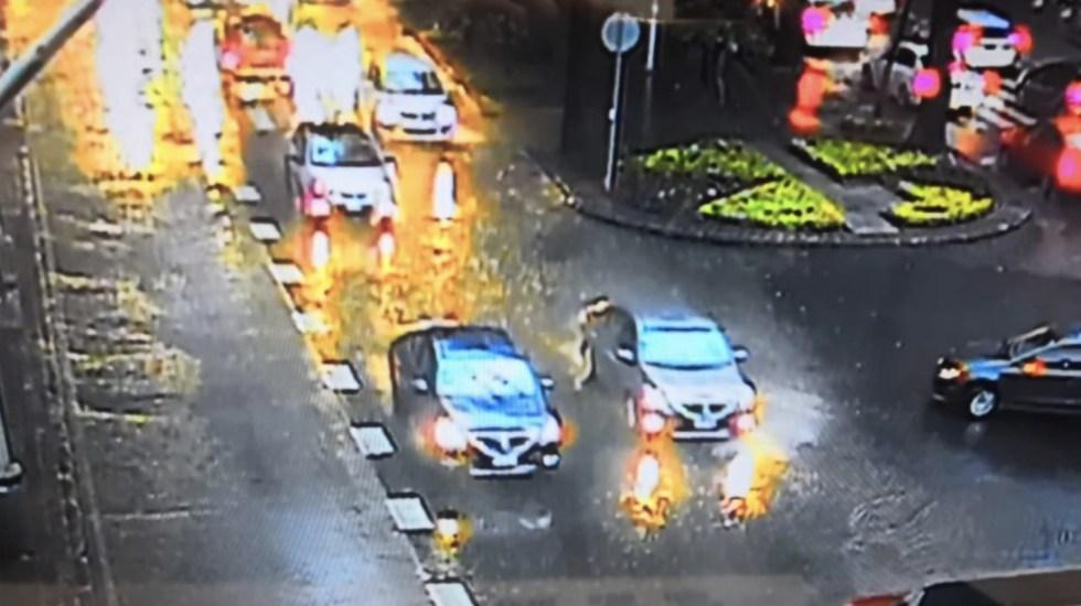 Lluvia ligera afecta movilidad en nueve alcaldías capitalinas - Foto de @OVIALCDMX