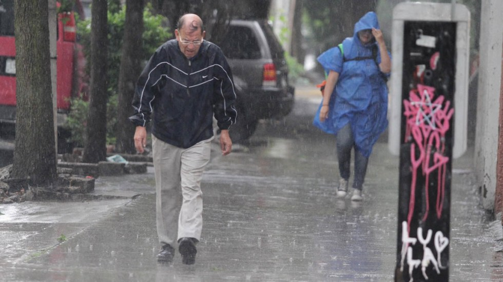 Alerta Amarilla por lluvias fuertes en ocho alcaldías - Lluvias Ciudad de México Tormentas Alerta Amarilla