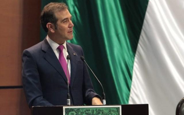 Reforma electoral debe concentrarse en el costo de los comicios: INE - Lorenzo Córdova en la Cámara de Diputados. Foto de @INEMexico