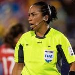 Lucila Venegas arbitrará inicio de los cuartos del Mundial Femenil - Lucila Venegas