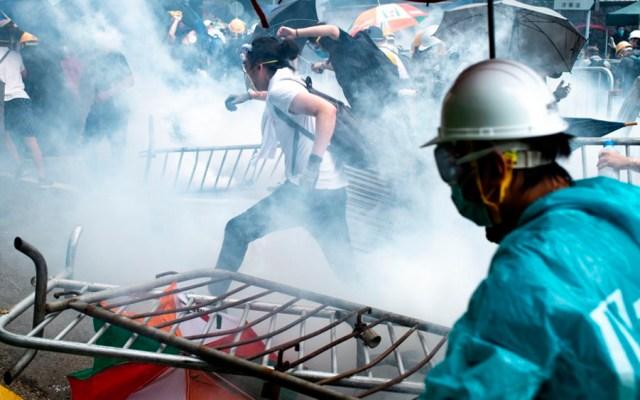 Enfrentamientos durante protesta contra ley de extradición en Hong Kong - manifestaciones hong kong