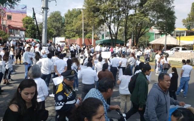Exigen justicia por desaparición de Norberto Ronquillo - Marcha Acoxpa Universidad del Pedregal Norberto