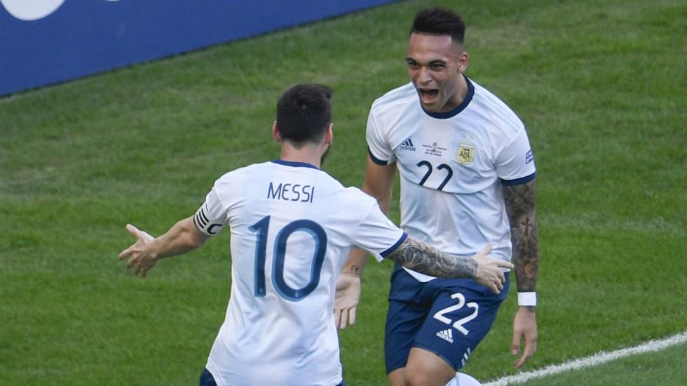 Argentina elimina a Venezuela y va por Brasil en semifinales de Copa América - Foto de AFP