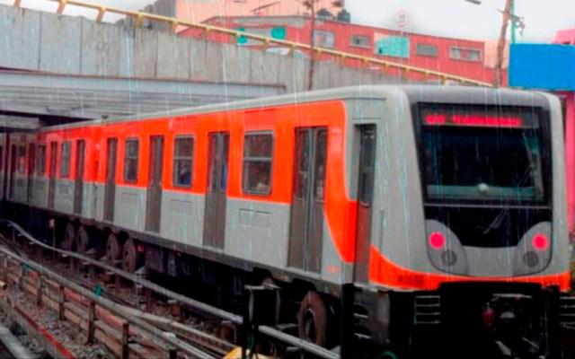 Metro y Metrobús cerrarán estaciones por marcha - metro lluvia
