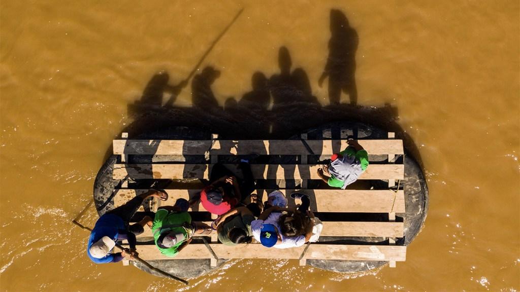Historias de migrantes centroamericanos en la frontera con Guatemala - Foto de Pedro PARDO / AFP