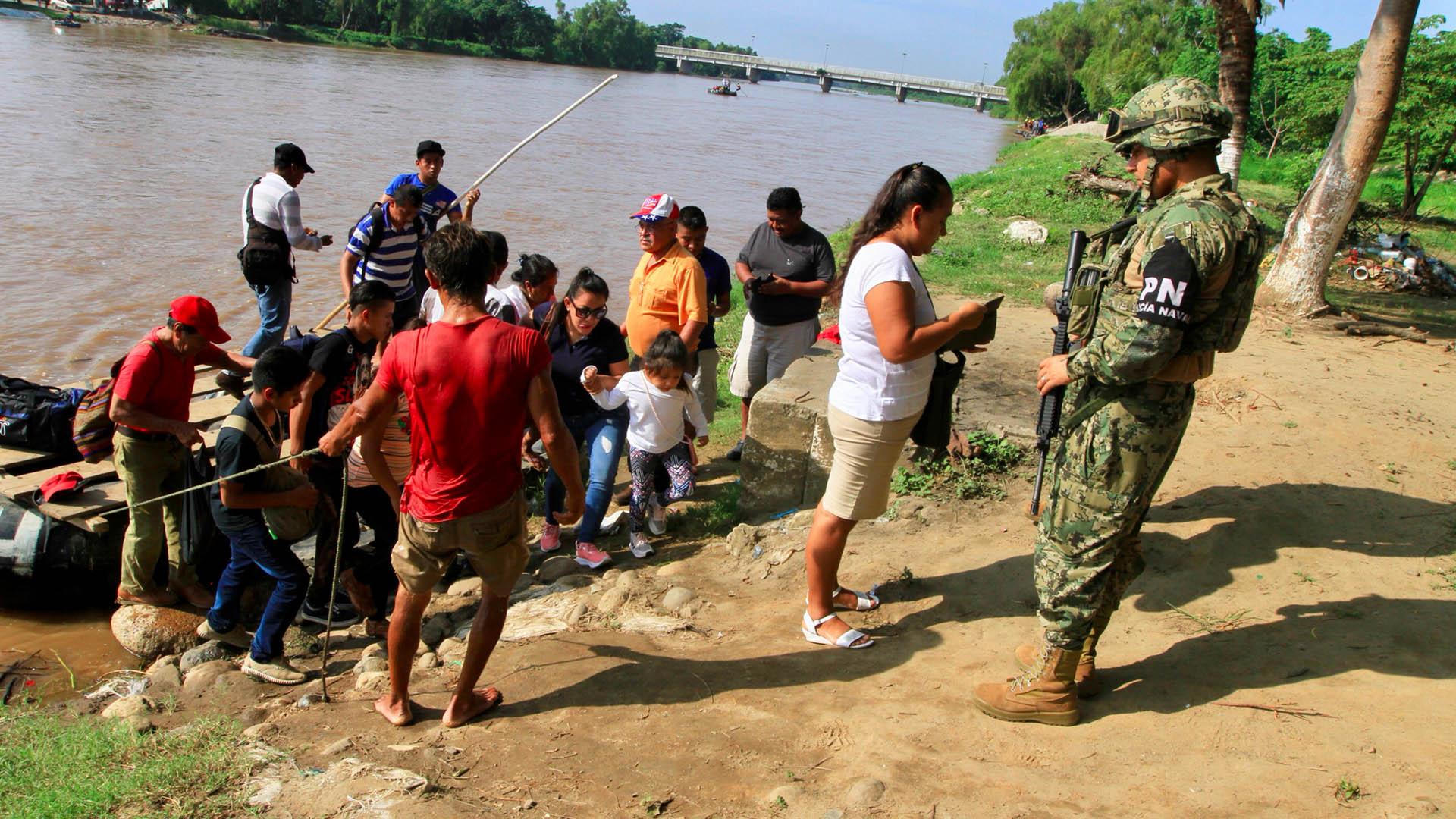 Migrantes México Guardia Nacional